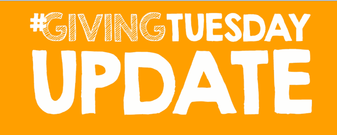 #GivingTuesday Update